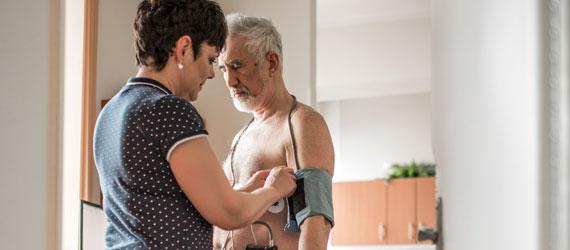 Měření krevního tlaku a 24hodinová neinvazivní monitorace krevního tlaku (TK Holter)